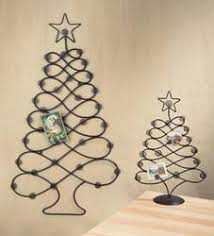 wire christmas tree card holder home design ideas