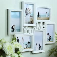 Hanging Wall Decor by Universal 6 Photo Collage Frame Family Picture Hanging Wall