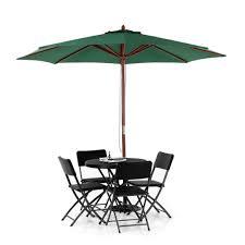 Patio Umbrella Canopy Replacement 8 Ribs by Aliexpress Com Buy Ikayaa Fr Stock 3m Wooden Beach Garden Patio
