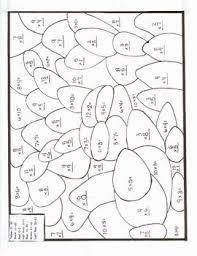 color by number multiplication worksheets worksheets