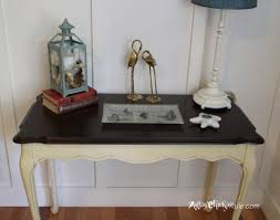 White Wood Desk Furniture Exciting Dark Wood Desk With Minwax Polyshades For