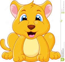 baby lion cartoons