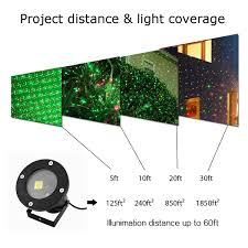 Christmas Lights Projector by Rgb Waterproof Outdoor Laser Projector Stage Light Xmas Garden