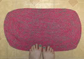 Crochet Doormat 101 Handmade Days Crocheted Rug Busy Being Jennifer