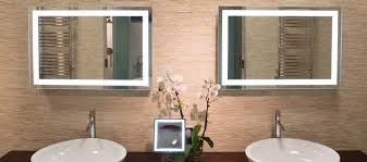 Backlit Mirrors For Bathrooms Back Lit Wall Mirrors By Aptations Kimball U0026 Young