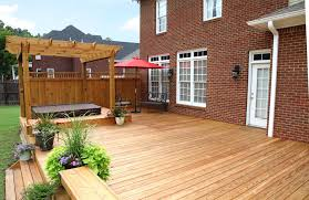 Open Patio Designs by Backyard Deck And Pergola Ideas Home Outdoor Decoration