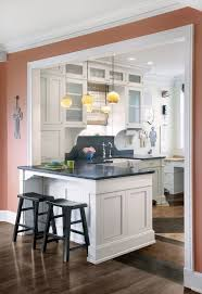 How To Remodel A Galley Kitchen Best 25 Kitchen Peninsula Ideas On Pinterest Peninsula Kitchen