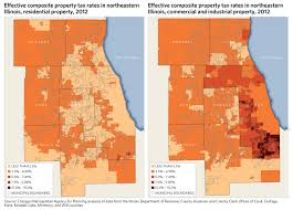 Map Of Counties In Illinois by Cook County Property Tax Classification Effects On Property Tax
