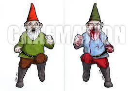 halloween gnomes pen for hire