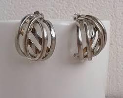 non metal earrings non metal jewelry etsy