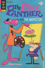 pink panther 1971 gold key comic books