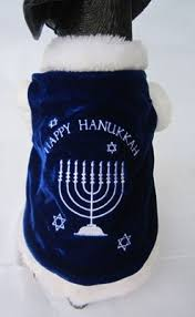 hanukkah clothes dog costume