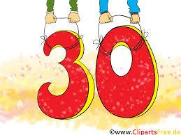 geburtstagssprüche 30 lustig jubiläum bilder cliparts illustrationen gifs grafiken kostenlos