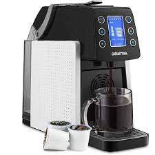 Coffee Grinder Tray Coffee Machine Gourmia Gcm5100 One Touch Multi Capsule Coffee