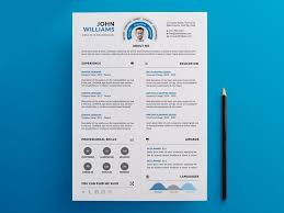 Free Infographic Resume Templates 25 Best Free Resume Templates For All Jobs U2013 Ui Collections U2013 Medium
