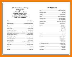 catholic wedding program template 9 catholic wedding order of service template cna resumed