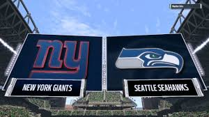 New York Giants Flag Madden 17 Giants Playbook H2h Giants Vs Seahawks Why You