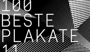 plakat design 100 beste plakate 11 ausstellung in berlin slanted typo