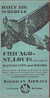 American Airlines Route Map Pdf by American Airlines Timetables World Airline Historical Society