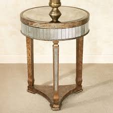 Painted Accent Table Bedroom Nightstand Wooden Bedside Table Small Bedside Table With