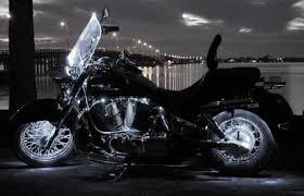 white led motorcycle light kit amazon com super white motorcycle led neon accent lighting kit with