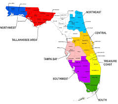 Map Of Southwest Fl Chapter Links