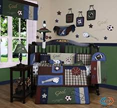 Baby Boy Sports Crib Bedding Sets Geenny 13 Crib Bedding Set Classic Sports