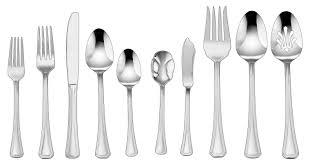 cuisinart jacalyn 45 piece flatware set u0026 reviews wayfair
