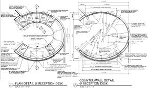 Reception Desk Plan Ma Salon Etc Advice On Structure And Finish For A Curved Front