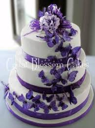 butterfly cake toppers for wedding cakes purple butterfly cake