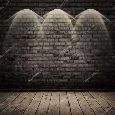 la chambre obscure 2000 chambre avec mur de brique et le plancher bois photographie