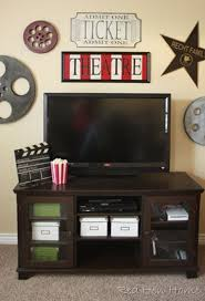 Home Theater Decor Pictures 88 Best Movie Theme Decor Images On Pinterest Movie Rooms