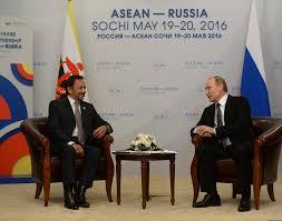 sultan hassanal bolkiah russian president vladimir putin u0027s bilateral meeting with sultan