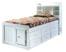 amish bookcase headboard rustic aspen log bed with bookcase