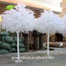 gnw btr034 artificial white leaves banyan tree for wedding wishing