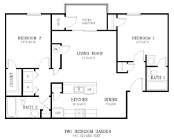 bedrooms modern design two bedroom two bathroom modern 2 bedroom