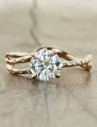 unique gold engagement rings best 25 engagement rings ideas on pretty