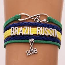 love braided bracelet images 2018 world cup russia band bracelet infinity love brazil russia jpg