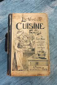 vieux livre de cuisine cooking book la veritable cuisine de famille familles