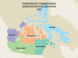 Capital Of Canada Map Territorial Evolution Of The Northwest Territories U2013 Pwnhc Cpspg