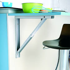 plan de travail escamotable cuisine support de table rabattable aluminium sokleo oskab plan travail