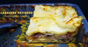 cuisiner le patisson blanc tchoup cooking lasagnes au patisson chignons et lardons