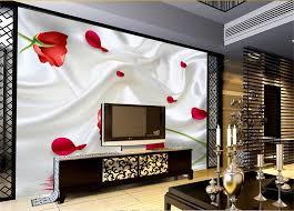 Wallpaper Livingroom by Popular Wallpaper Red Rose Buy Cheap Wallpaper Red Rose Lots From