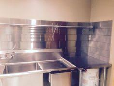 www stainlesssteeltile com likes the small commercial kitchen