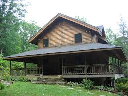two story cabin with wrap around porch i like this deep porch