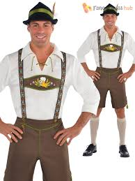 mens oktoberfest bavarian costumes german lederhosen fancy dress