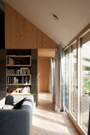 Wooden Interior by Martin Boles Architect Design A Versatile Private Residence With A