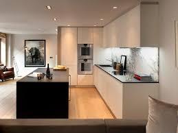 kitchen islands marble splashback ideas exposed brick black