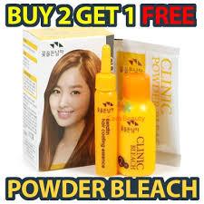 best otc hair bleach qoo10 hair lightening clinic powder bleach kit for highlights or