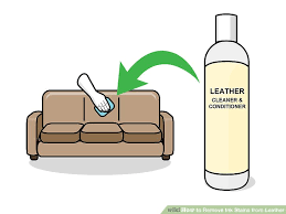 Remove Ink From Leather Sofa 3 Ways To Remove Ink Stains From Leather Wikihow